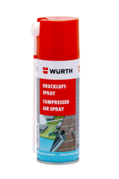 Compressed air spray