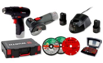Set utensili a batteria