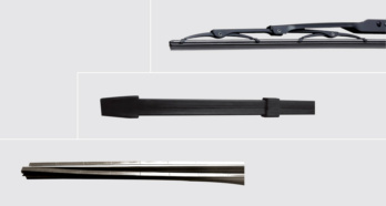 Refill- replacement rubber blades For conventional wipers