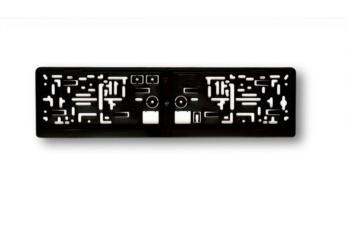 Kennzeichenhalter 2-Clip