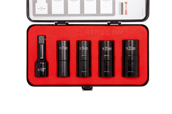 1/2 inch double-spiral socket set - SPRLSKT-KIT-DB-5PCS