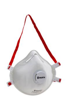 Masque de protection respiratoire jetable FFP3 CM 3000 avec valve