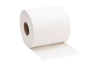 Papier de nettoyage pour support de rouleau de papier