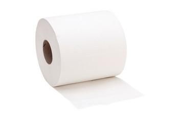 Reinigingspapier voor papierrolhouder