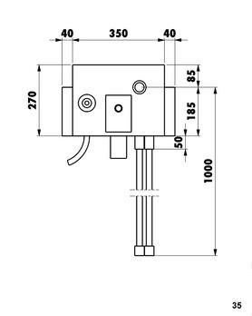 installationsbox waschmaschinenanschluss trockenbau 5275009248. Black Bedroom Furniture Sets. Home Design Ideas