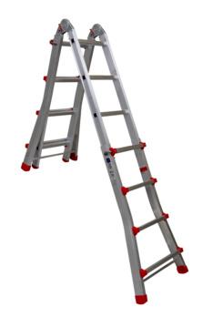 Escada articulada telescópica EN 131