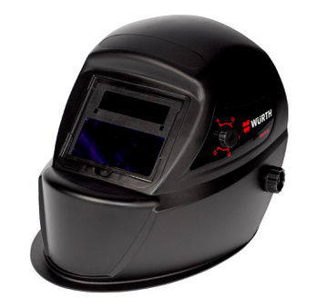 Auto-darkening Solar welding helmet  UK Solar 9-13 - WELDHELM-SOLAR-AUTODARKEN-BLACK-(9-13)