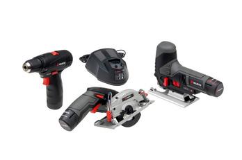 Kit di utensili a batteria da 10,8 V - KIT COMBO 2 A BATT. 10,8V 2,0AH 7PARTI