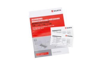 Bevestigingsset voor brandwerende doorvoering I30/I60/I90/I120