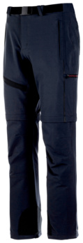 PANTALON ACTION ZIP-OFF ANTHRACITE