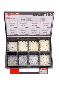 DIN 125 poliammide PA 6.6 bianca