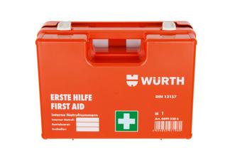 First-aid case, DIN 13157