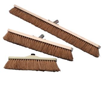 Balai de cantonnier fibres coco