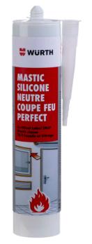 Mastic silicone neutre coupe-feu Perfect