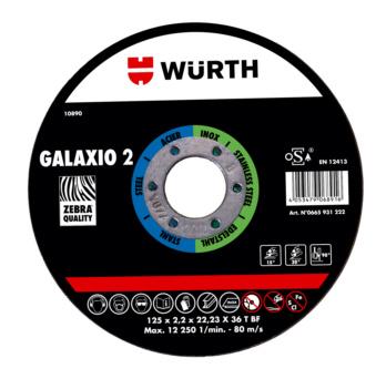 Disque mixte 2 en 1 GALAXIO 2