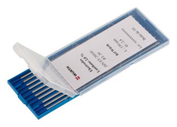 Electrode tungstène lanthane 2%