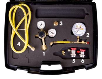 Kit azote de détection des fuites de climatisation