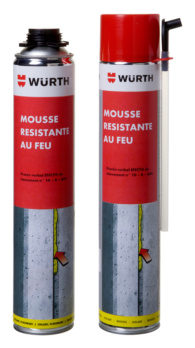 Fire-resistant foam