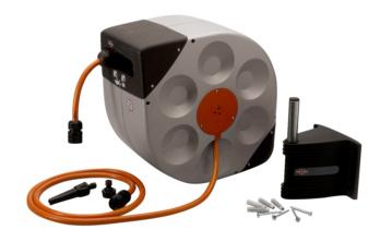 Enrouleur automatique pour tuyau d'eau 20 m