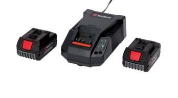 Power Pack LI-CV 18 V mit Ladegerät und 2 x Akkus