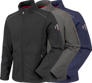 City softshell jacket