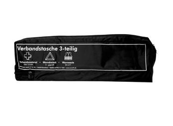 Unprinted car first aid bag, three pieces