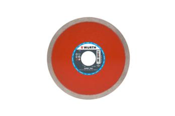 Diamond cutting disc, tile