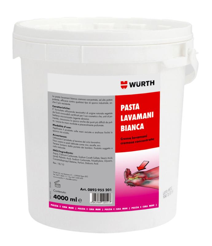 Pasta lavamani bianca - PASTA LAVAMANI BIANCA  4 L