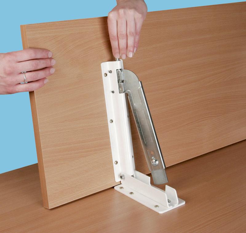 Reggimensola con sganciamento rapido per tavolo for Reggimensola pieghevole