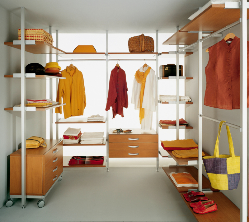 Aste appendiabiti per cabine armadio casamia idea di immagine - Attrezzature per cabine armadio ...
