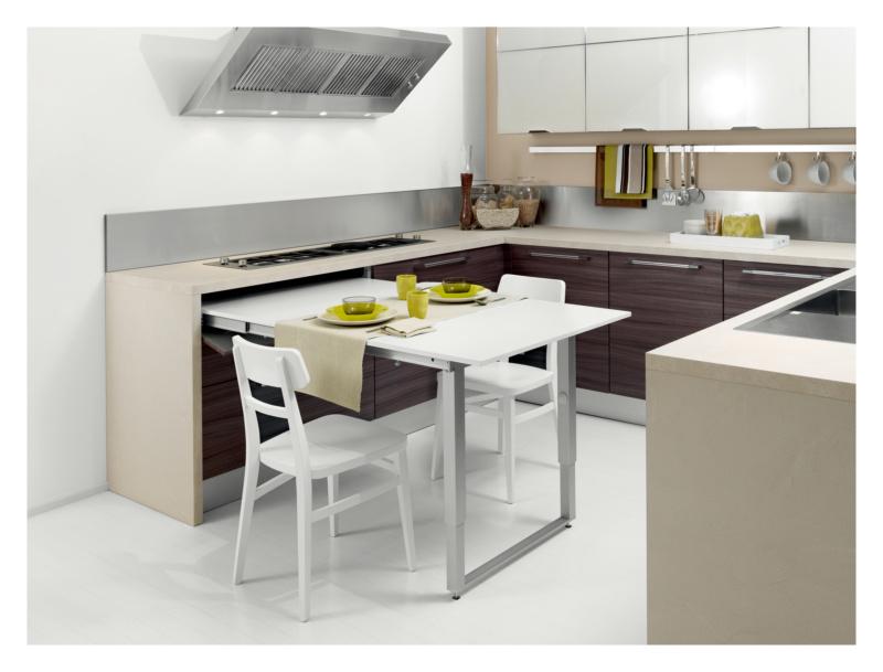 Tavolo estraibile ribaltabile 0684080296 - Tavolo pieghevole cucina ...
