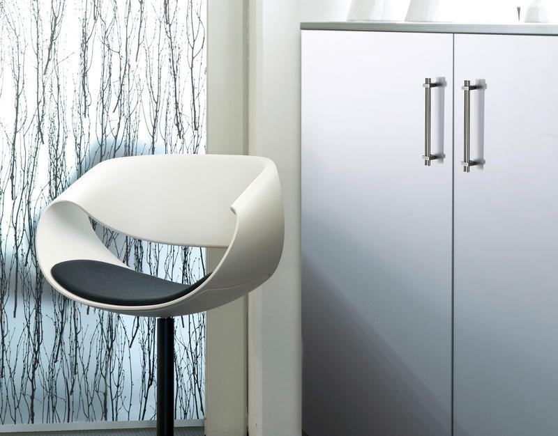 Maniglia per mobili di design inox doppia barra for Outlet di mobili di design pittsburgh