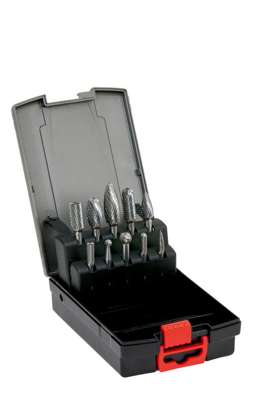 Zestaw frezów z węglików spiekanych Ząb MX - ZESTAW 10 FREZOW PALCOWYCH