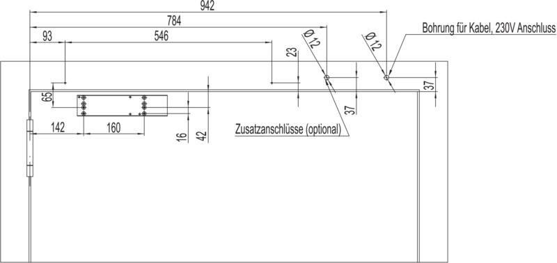 elektromagnetische feststellanlage mit gleitschienent rschlie er gts 690 mit integriertem. Black Bedroom Furniture Sets. Home Design Ideas