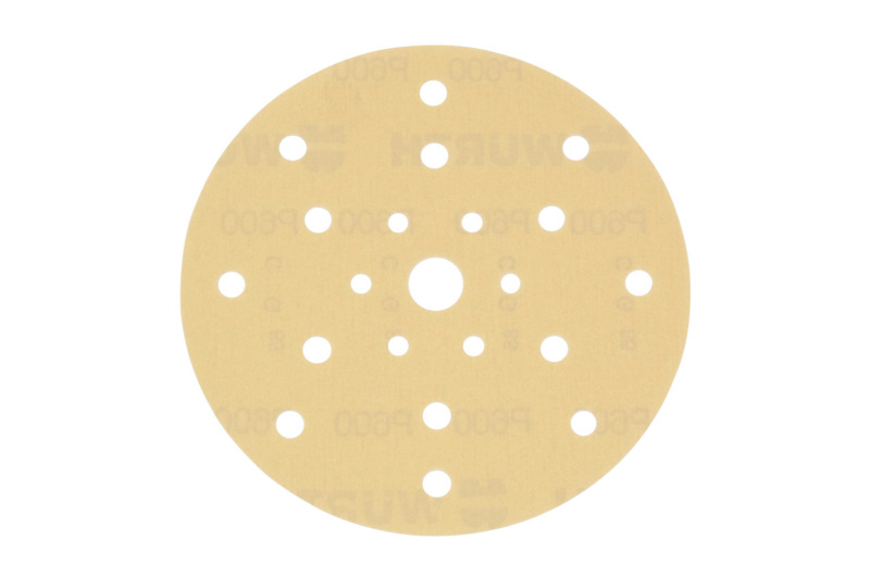 Vehicle dry sandpaper disc Arizona<SUP>®</SUP> Perfect - DSPAP-HOKLP-MULTIHOLE-P40-D150MM