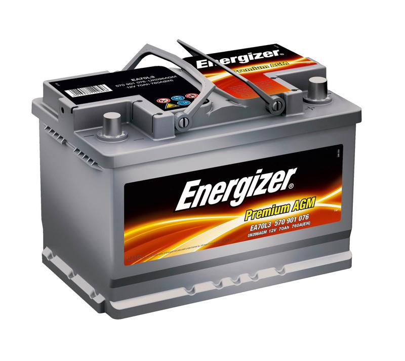 Energizer car battery starter jackets