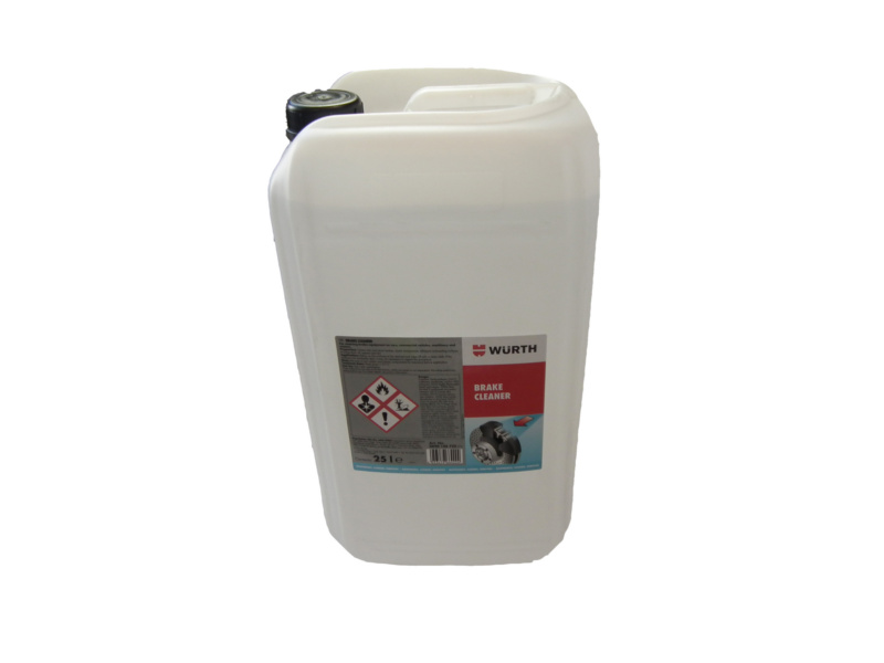 Brake cleaner - BRKCLNR-CAN-CLEAR-25LTR