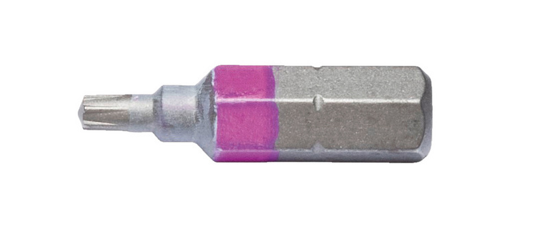 AW<SUP>®</SUP> bit - BIT-AW10-PINK-1/4IN-L25MM