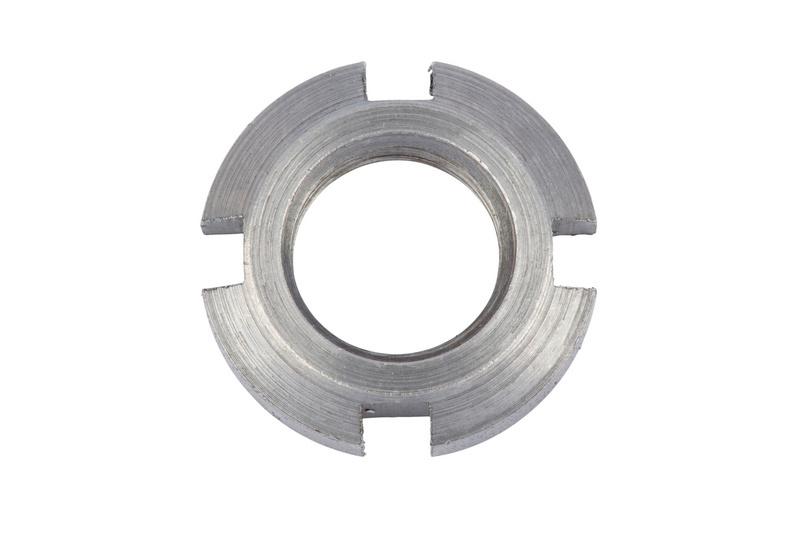 DIN 981 acciaio grezzo - GHIERA-DIN981-KM10-M50X1,5