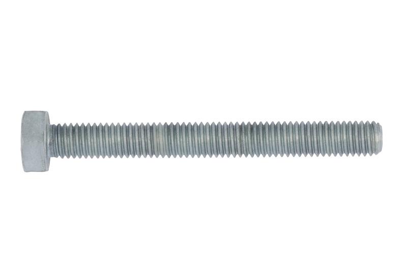 Sechskantschraube mit Gewinde bis Kopf - SHR-6KT-DIN933-8.8U-SW30-(TZN)-M20X150