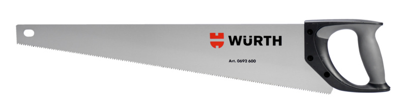 Hand saw for wood with 2-part handle - HNDSAW-ST-2K-2D-WL550MM