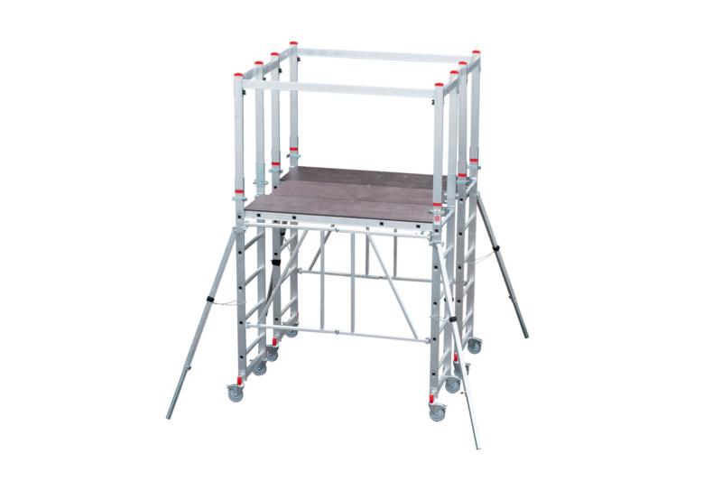 Set completo di ponteggi pieghevoli mobili grandi for Grandi progetti di mobili standard