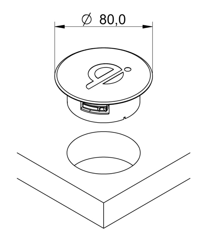 Wireless Diem Charger Visible Assembly