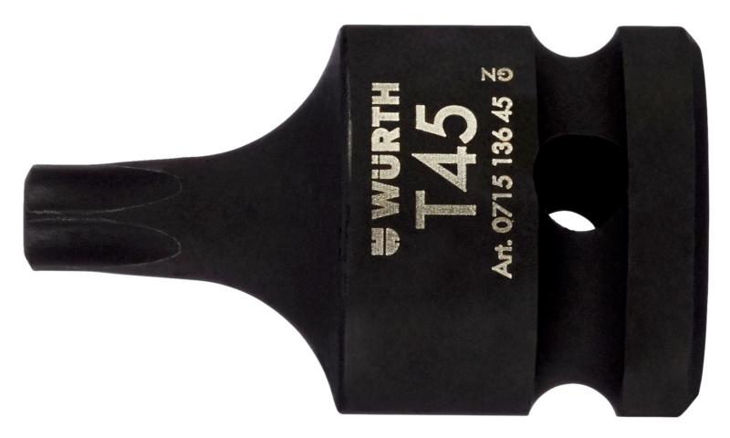 1/2 colos gépi dugókulcs, belső TX - BELSŐ LEV.KULCS 1/2 TORX ST55