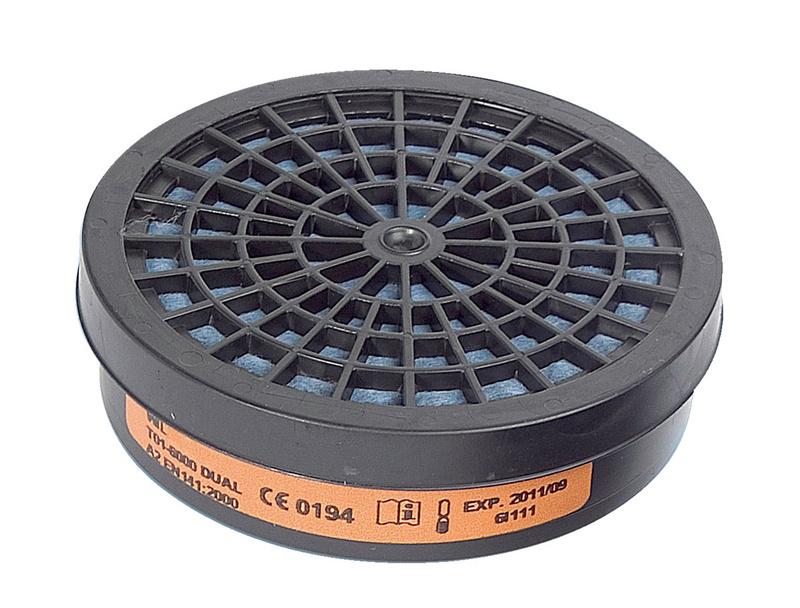 Filtro de gás para meia máscara HM 173 - FILTRO SIMPLES A2 P/ MASCARA PROTECCAO