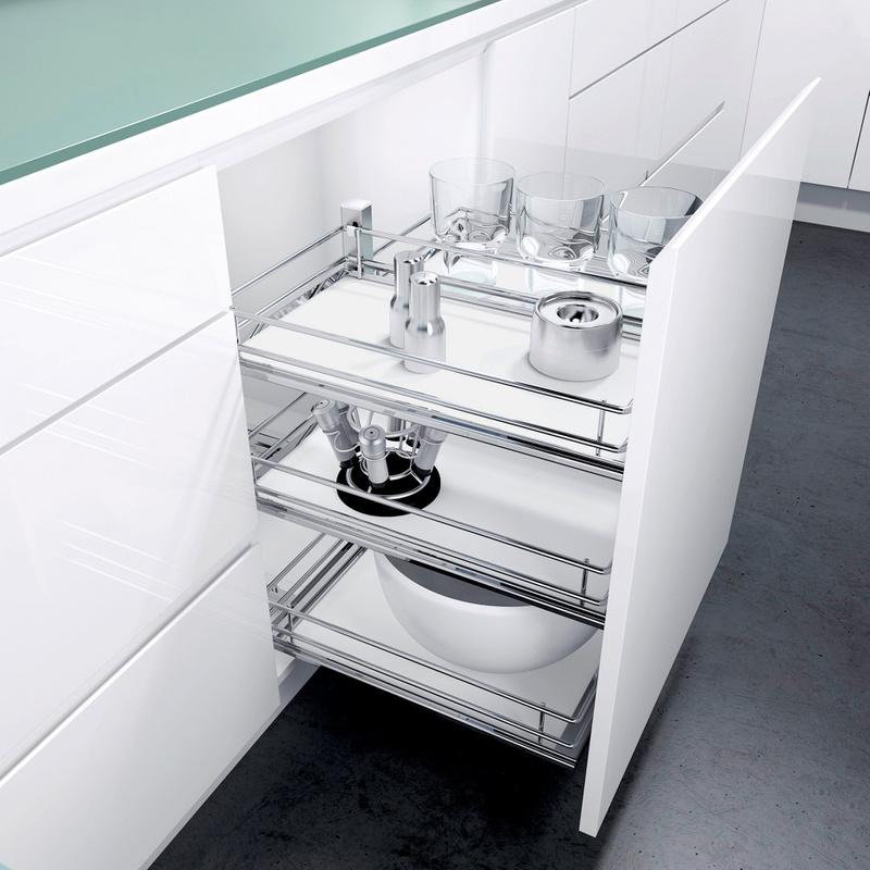 grundkorb f r unterschrank auszug sub flex w rth. Black Bedroom Furniture Sets. Home Design Ideas