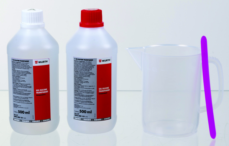 Gel silicone transparent  - GEL TRANSPARENT 2X500ML