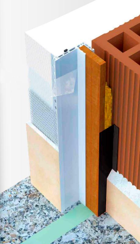 Profilo per controtelaio caldo 0518900001 - Montaggio finestre pvc senza controtelaio ...