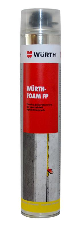 ogniochronna piana poliuretanowa WURTHFOAM FP - PIANA OGNIOCHRONNA WURTHFOAM FP750ML