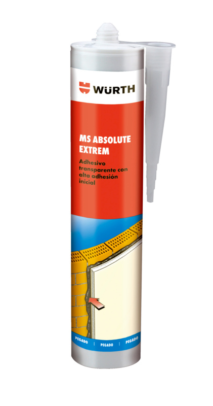 Adhesive sealant ABSOLUTE EXTREM SM - STRUCADH-(MS-EXTREM)-TRANSP-300ML